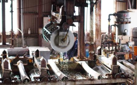 自動バレルの亜鉛メッキ工程